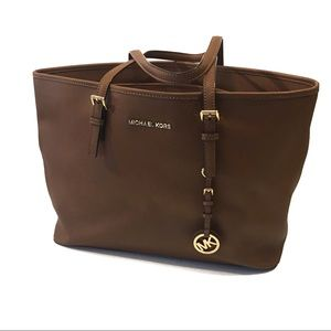 Michael Kors Jet Set Travel Laptop Work Tote Bag